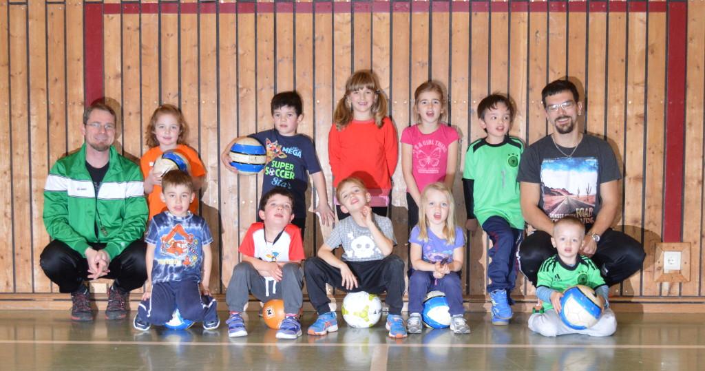 Gruppenbild - bambini